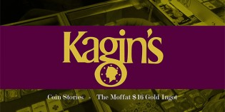 Kagin's Coin Stories: The Moffat $16 Gold Ingot – 4K Video