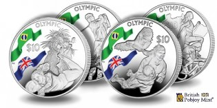 Pobjoy Mint 4-Coin Set Commemorates 2016 Olympic Games