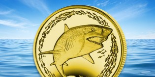 Pobjoy Mint Releases First Titanium Coin of the Year: The Lemon Shark