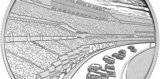 Royal Canadian Mint Celebrates Daytona Intl. Speedway with Silver Medallion