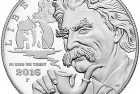 United States 2016 Mark Twain Commemorative $1 Silver Coin