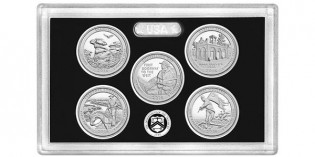 America the Beautiful Silver Proof Set Released March 7, 2016