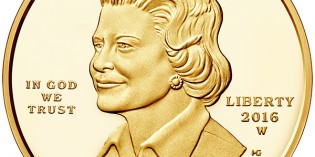 United States 2016 Betty Ford $10 Gold Coin