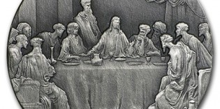 Bread & Betrayal: The Last Supper – 2nd 2016 Biblical Series Coin Released