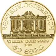 1/2 oz Austrian Gold