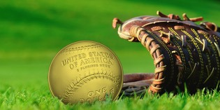 Baseball's Golden Glove: The Hall of Fame Commemorative $5 Gold Coin
