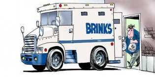 Brink's Manager Steals Almost $200,000 in Quarters from Federal Reserve