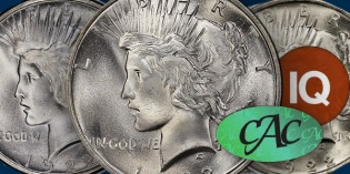 CoinWeek IQ: Type Peace Dollar CAC Price Analysis
