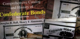 Numismatic Books – Confederate Bond Book Review