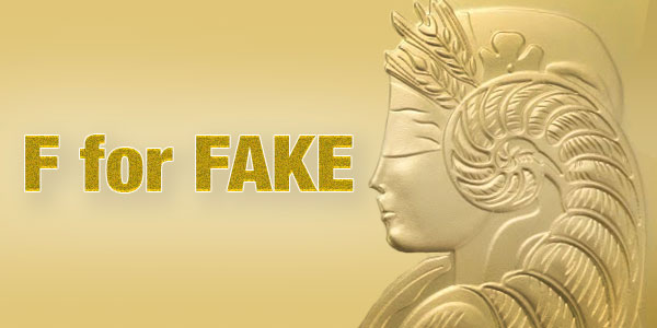Counterfeit Gold Beware Of Fake Pamp Gold Bars