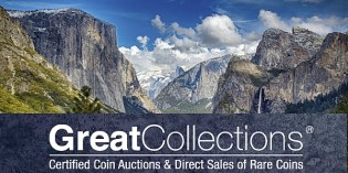 GreatCollections Auctions Yosemite Collection of U.S. Coins