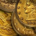 1840's US Gold Quarter Eagles