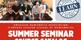 Numismatic Education – Online Registration for ANA Summer Seminar