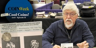 CoinWeek: Uncool Coins #2 – 1652 Massachusetts Pine Tree Shilling – 4K Video