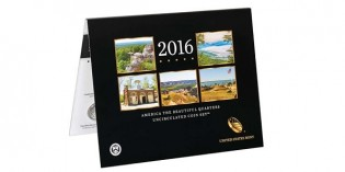 2016 America the Beautiful Quarters Uncirculated Set Released March 30