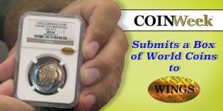 CoinWeek Submits a Box of World Coins to WINGS + RESULTS!- 4K Video
