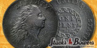 Classic US Coins – Iconic 1793 Chain Cent Offered in Stack's Bowers May 2016 Rarities Auction