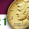 2016 Mercury Dime 100th Anniversary Gold Coin to be released April 21