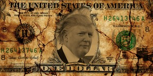 Private Mint Trump Dollars One-Up Legal Tender Coinage