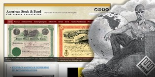 Scripophily – New Website Launched to Raise Awareness of Collecting Stock and Bond Certificates