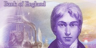 Britain to Debut J.M.W. Turner £20 Banknote in 2020