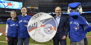 New Royal Canadian Mint Silver Coin Celebrates Toronto Blue Jays 40th Season