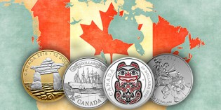 World Coins – Royal Canadian Mint 4th Numismatic Catalogue of 2016: First-Ever 3D 'Water Drop' Effect