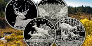 World Coins – The Canada White-Tailed Deer Four Coin Series