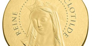 France 2016 Women of France: Queen Clotilde 50 Euro Gold Coin