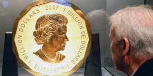 Royal Canadian Mint: First Ever $1 Million Face Value Gold Coin for Sale