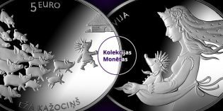 World Coins – Latvian Bank Issues Fairy Tale Coin II: Hedgehog's Coat