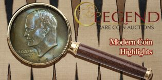 Top 5 Modern Coins at Legend Regency Auction XVII