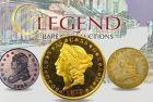 Legend Rare Coin Auctions Present Classic Rarities and Collector Coins in Regency Auction XVII