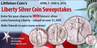 Littleton Coin Announces Liberty Silver Coin Sweepstakes