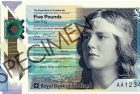World Paper Money – New Scottish £5 Banknote to Feature Female Author Nan Shepherd