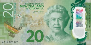 New Zealand's Brighter Money $20, $50 and $100 Notes Now in Circulation
