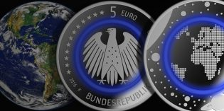 German 5 Euro Planet Earth Coin Debuts in Time for Earth Day