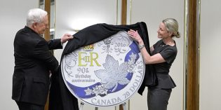 World Commemorative Coins – Royal Canadian Mint Unveils Silver Coin Celebrating Queen Elizabeth II's 90th Birthday