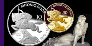 Bank of Malta Issues Gold, Silver Coins to Celebrate Art of Antonio Sciortino