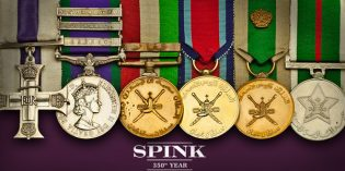 Spink: Orders, Decorations, Campaign Medals and Militaria Auction April 21