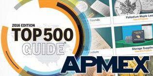 APMEX a Top 500 Internet Retailer 2nd Year in a Row