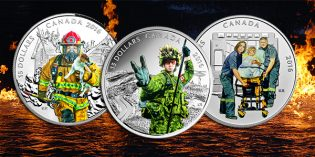 Royal Canadian Mint Honors Canada's National Heroes with Silver Collector Coin Series
