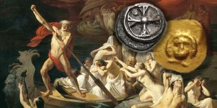 Ancient Coins – Charon's Obol Coins for the Dead