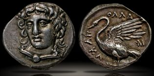 Ancient Greek Coins – Front Facing Portraiture
