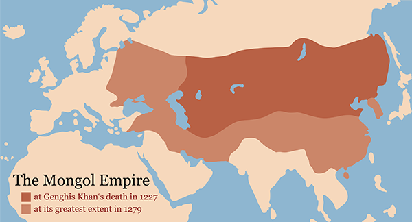 a comparison of the roman and mongol empires Ap® world history 2014 scoring guideline  relevant comparison in the way two empires used  the secular nature of the roman legal code compared to sharia.