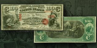 Newly Discovered Original Series Salem, NJ $100 in Stack's Bowers ANA Auction