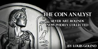 The Coin Analyst: Silver Art Rounds Now Widely Collected