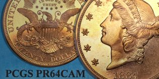 Heritage Auctions – Seldom Seen Selections: 1884 Double Eagle