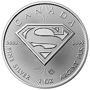 2016 Canada $5 1 oz. Silver Superman