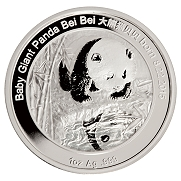 2016 China 1 oz. Proof Silver Smithsonian Panda Bei Bei